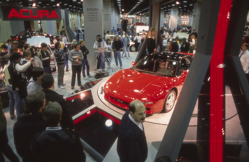 Acura NSX at the 1989 Chicago Auto Show - Acura NSX 30th Anniversary