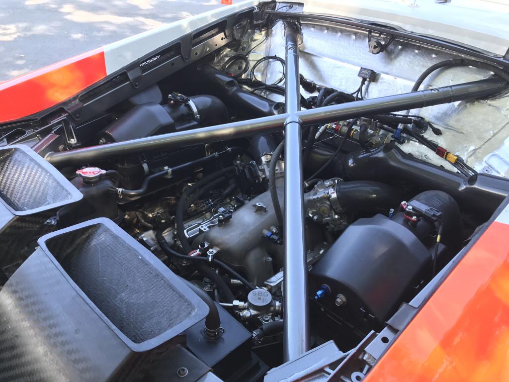Acura NSX GT3 Evo engine bay