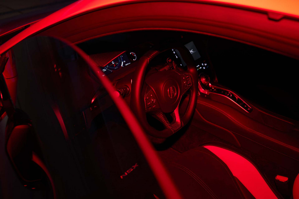 2022 Acura NSX Type S.