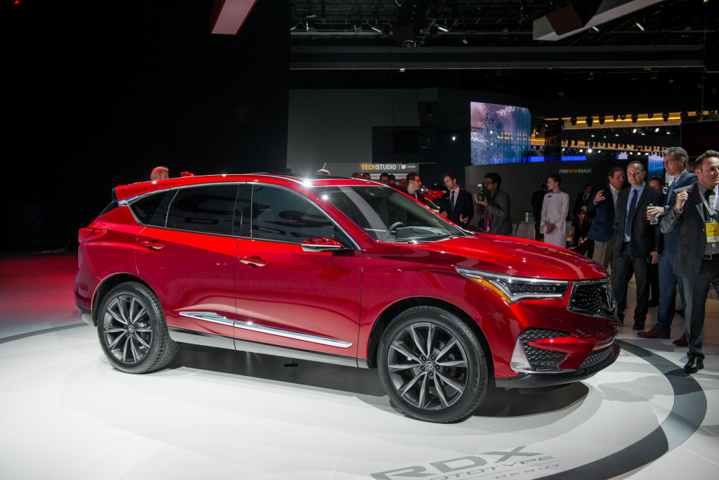 Acura RDX Prototype previews 2019 model due this year