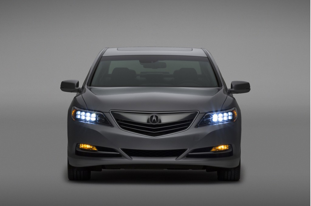 2016 Acura RLX: Top Crash-Test Ratings In Every Category