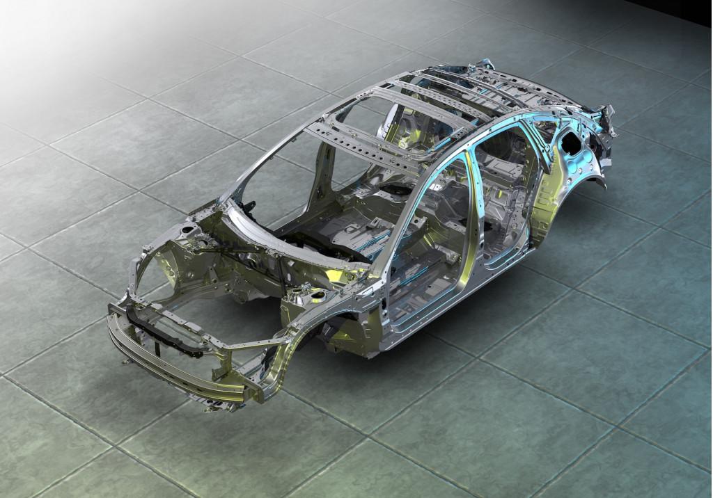 2021 Acura TLX ACE body strucure