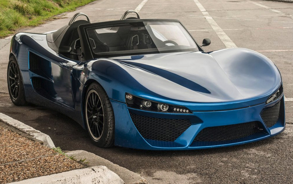 Adamastor is your latest lightweight sports car supplier