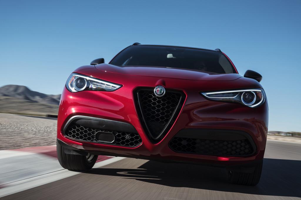 Alfa Romeo's Nero Edizione package for Giulia and Stelvio debuts in New York