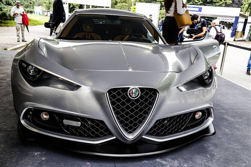 Coach-built Alfa Romeo 4C is a stunner inside and out