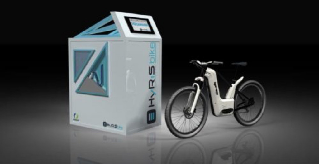 Hydrogen fuel-cell e-bike claiming longer range, quick refueling