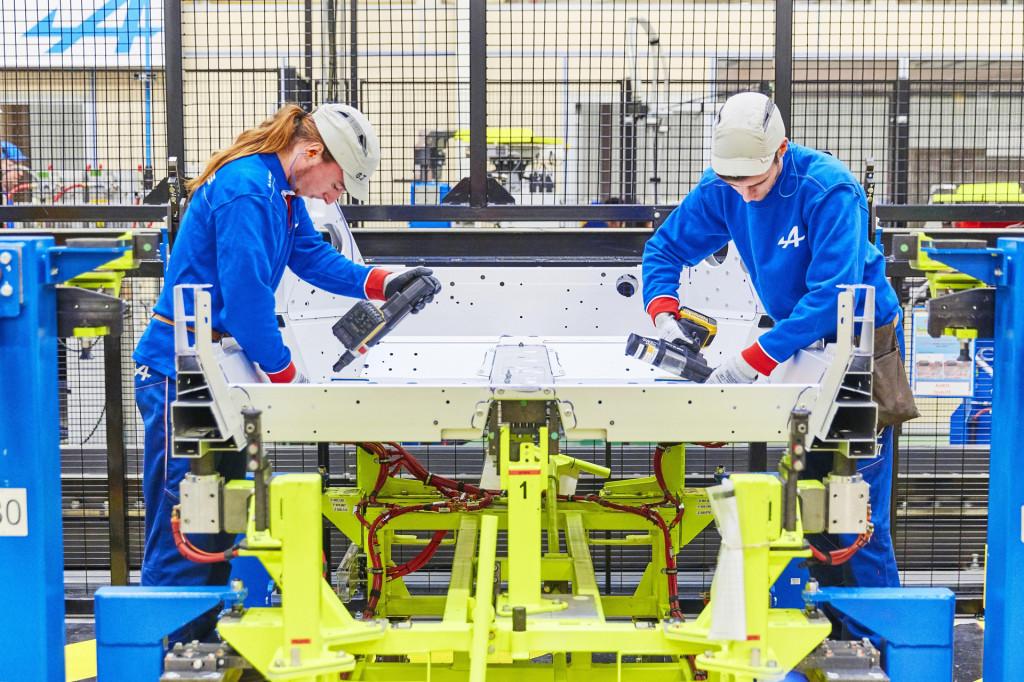 Alpine A110 enters production at historic Dieppe plant