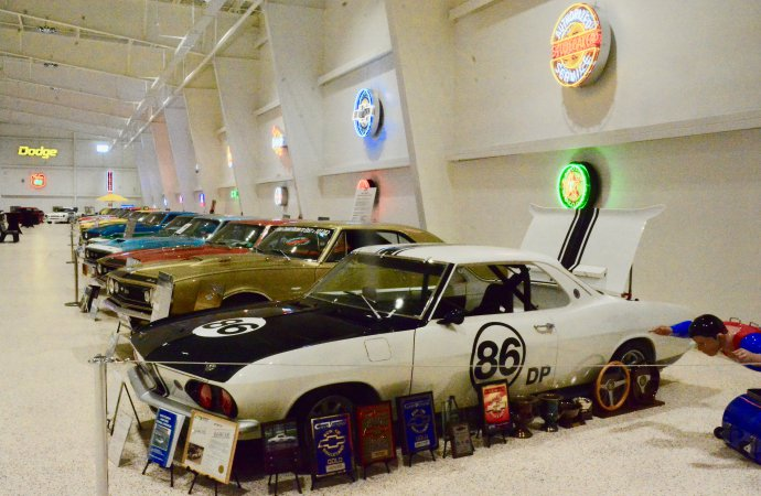 You need to be invited to visit America's Muscle Car Museum