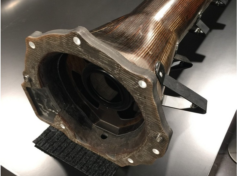 AMG GT R torque tube