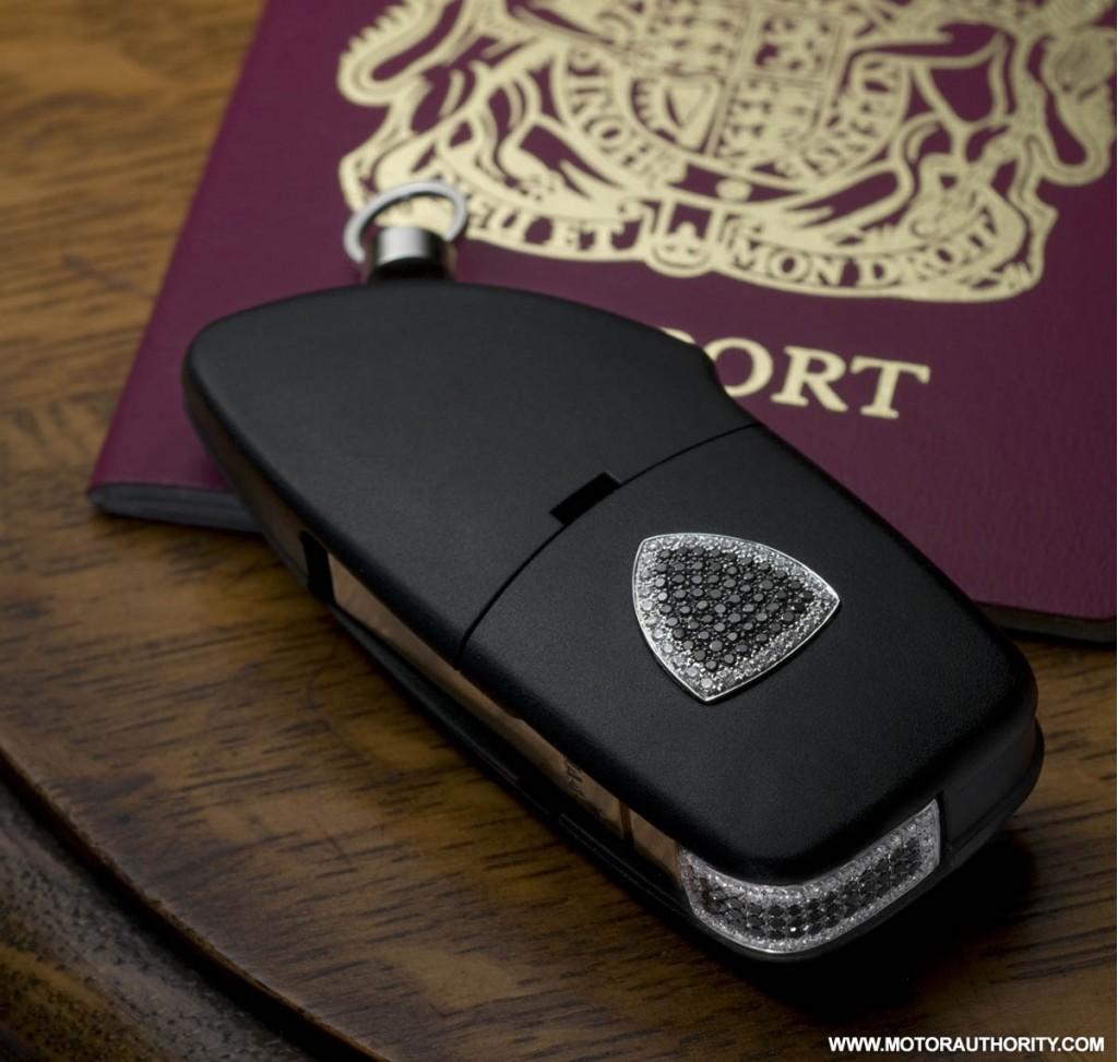 Image: Amosu Lamborghini Diamond Key Fob 004, Size: 1024 X