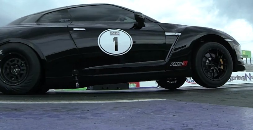 AMS Alpha Omega GT-R Sets New 1/4-Mile Record: Video
