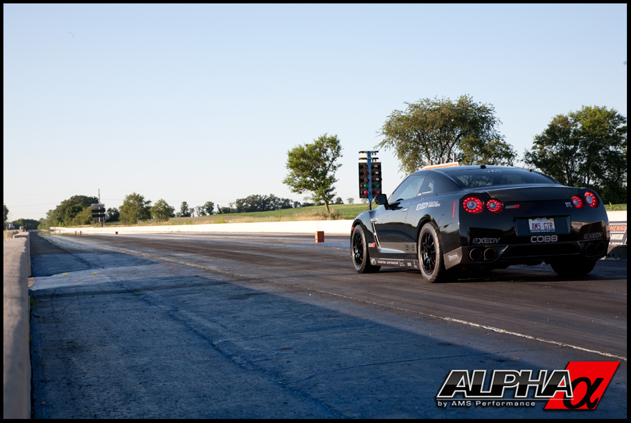 AMS Performance Alpha 12 Nissan GT-R breaks into the 8s