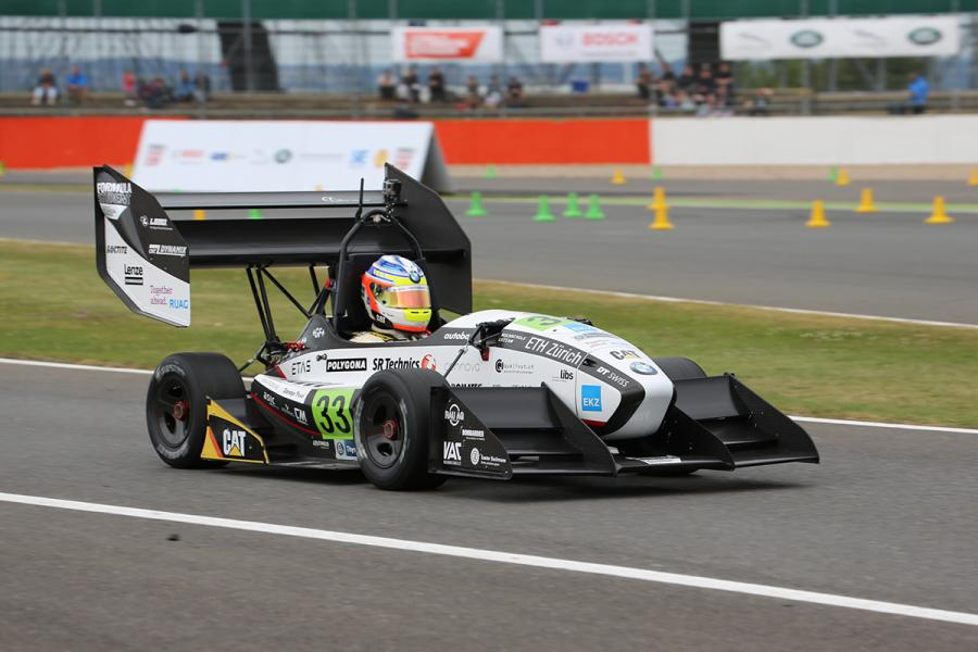 Image Amz Electric Race Car Quot Grimsel Quot At Formula Student