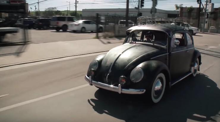 Original Volkswagen Beetle Stops By Jay Leno S Garage