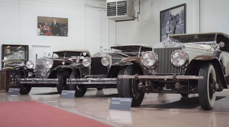 Look inside one of the most prestigious classic car collections in the world