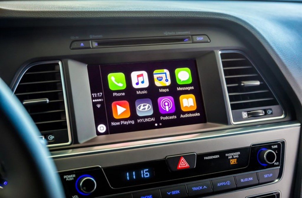 Le Carplay In 2016 Hyundai Sonata
