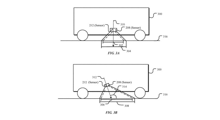 Apple patent for new self-driving car sensors