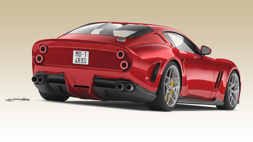 Modern Ferrari 250 GTO teased, Porsche 911 GT3 spied ...