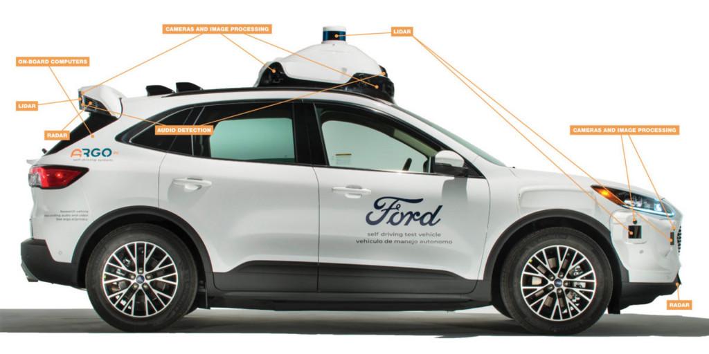Прототип беспилотного автомобиля Argo AI