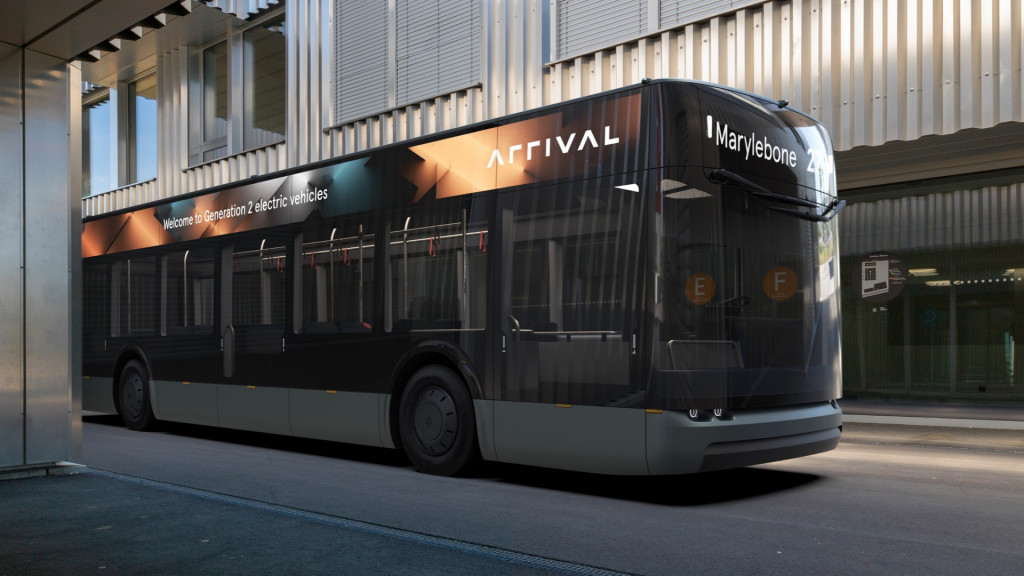 Arrival electric bus