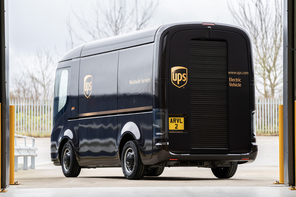 Arrival electric delivery van for UPS