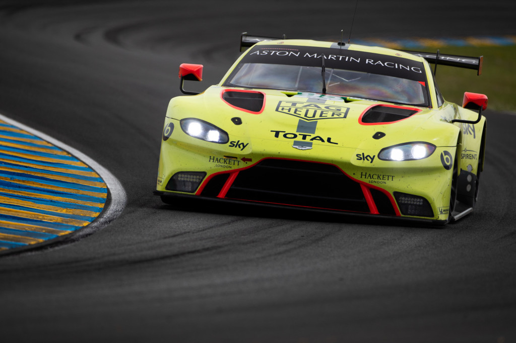 Aston Martin at the 2018 24 Hours of Le Mans