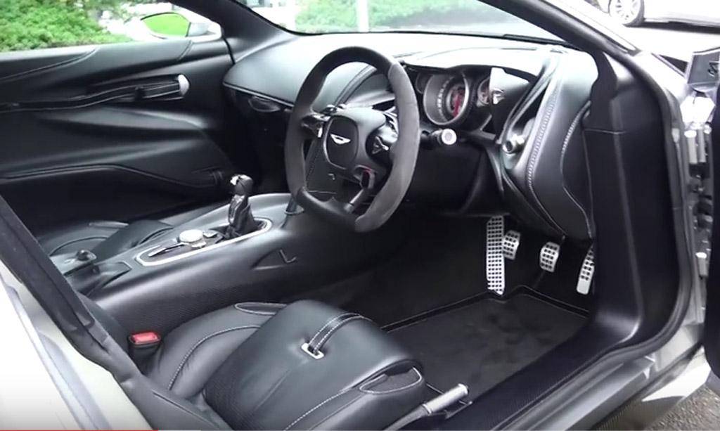 Aston Martin DB10 inside look
