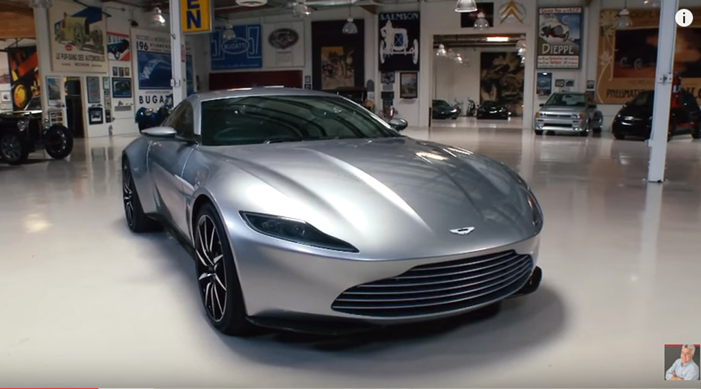 Jay Leno Drives The Aston Martin Db10 From Spectre Video