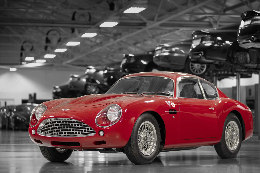 Aston Martin DB4 GT Zagato continuation car