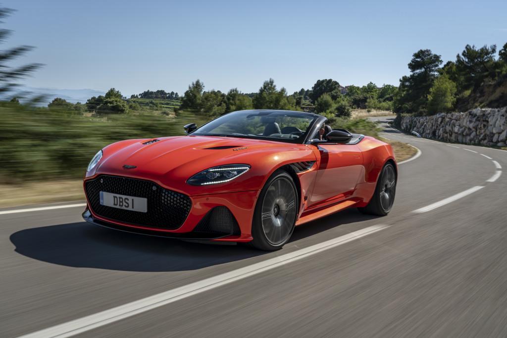 First drive review: 2020 Aston Martin DBS Superleggera Volante is the right light