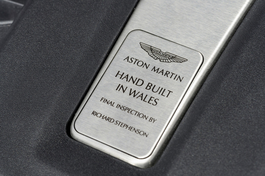 Aston Martin DBX production in St Athan, United Kingdom