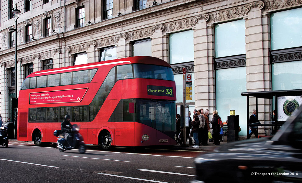 Aston Martin Designed Bus Ready For London Service