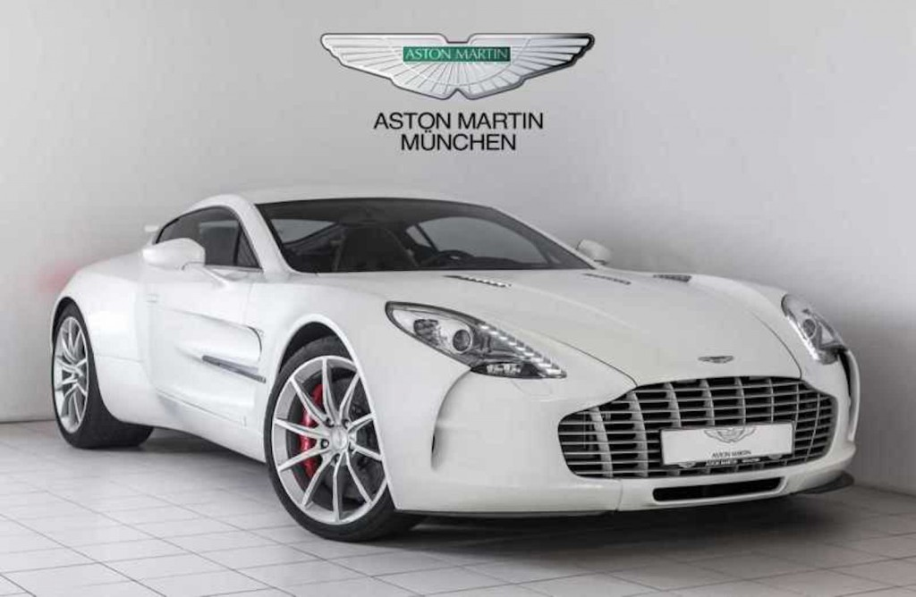 An Aston Martin One Can Be Yours For Million - How much is an aston martin