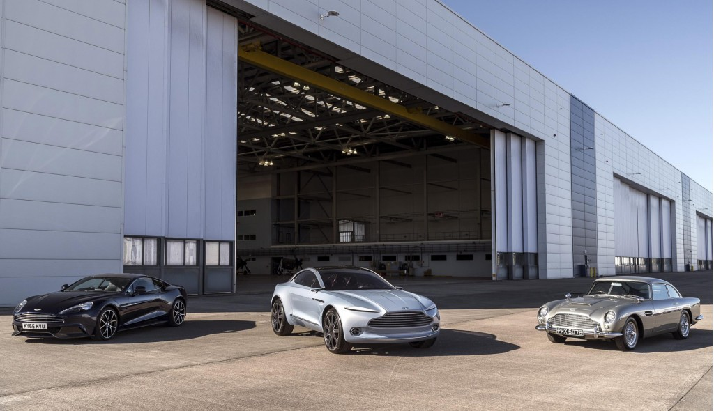 Site of Aston Martin plant in St Athan, Wales
