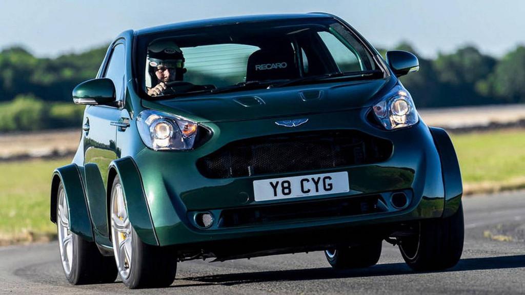 Q by Aston Martin drops V-8 into Cygnet city car