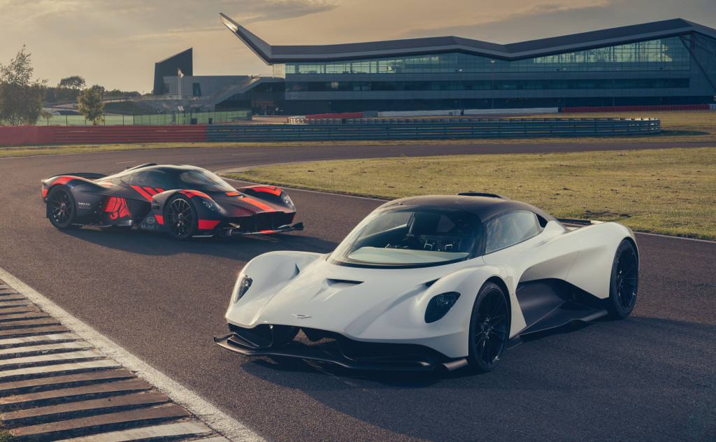 Aston Martin's Valhalla hypercar hits the track alongside the Valkyrie
