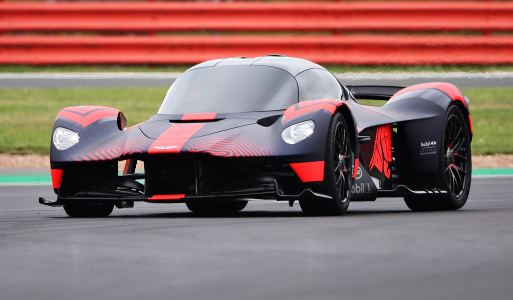 Aston Martin Valkyrie shown in motion for first time