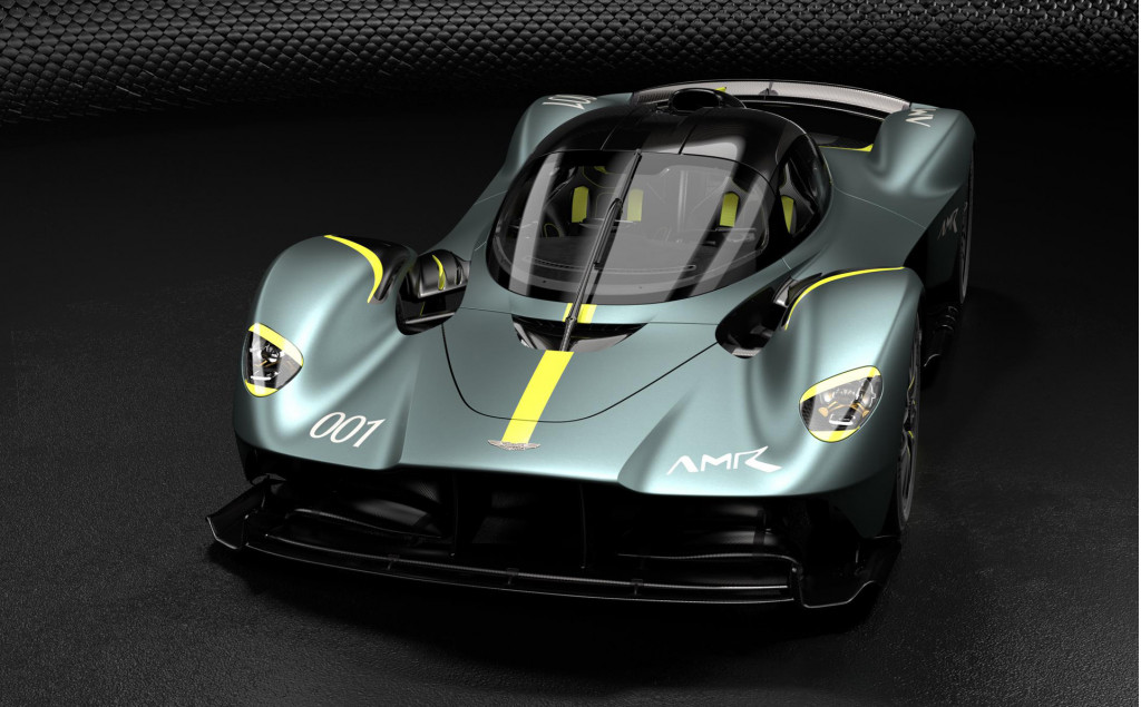 Options For Aston Martin Valkyrie Include Track Pack Exposed Carbon