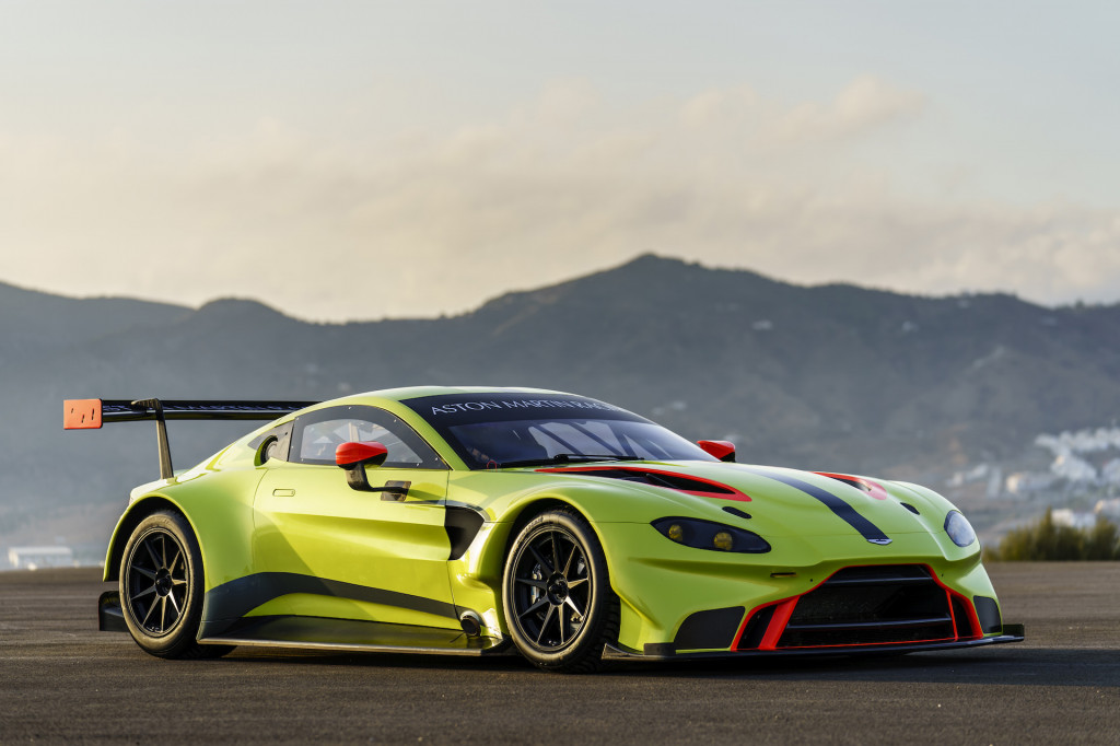 New Aston Martin Vantage race car ready to take on 2018/2019 WEC season