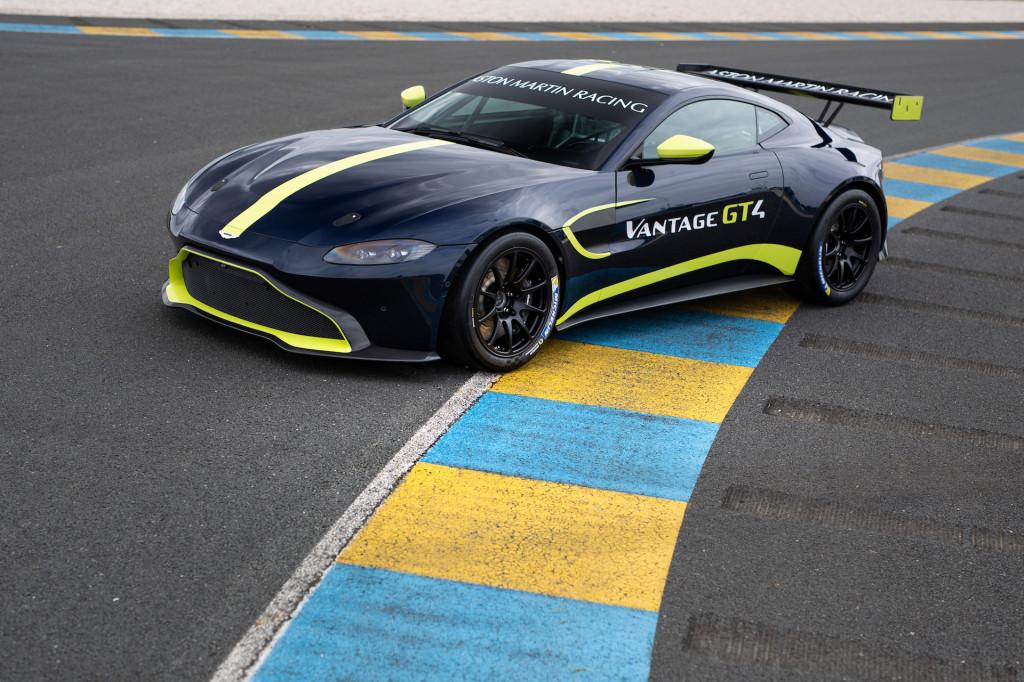 Aston Martin Vantage GT4 customer race car