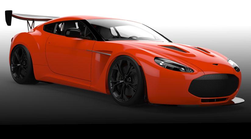 RaceSpec Aston Martin V Zagato Previewed - Aston martin v12 zagato specs