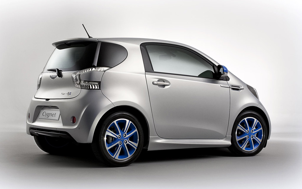 Beautiful Aston Martin Cygnet U0026 Colette Minicar