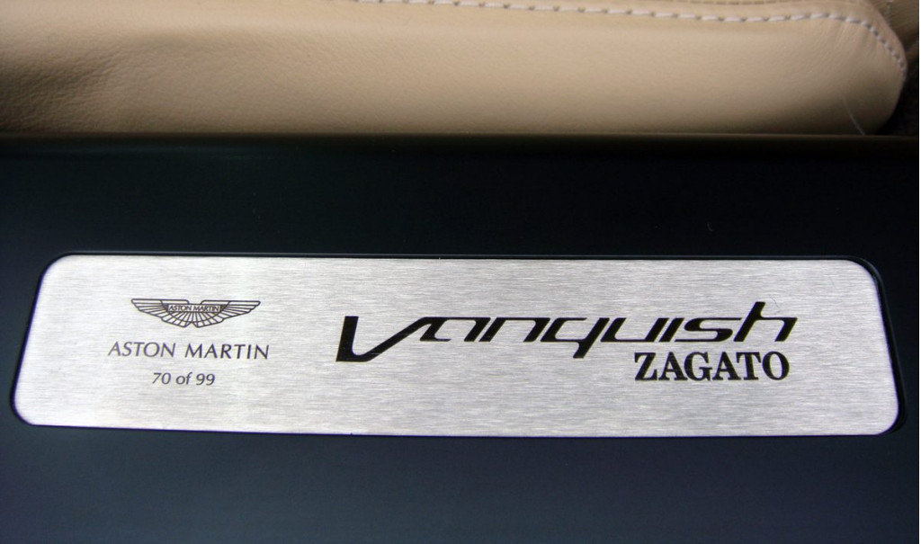 This ultra-rare Aston Martin Vanquish Zagato can be yours