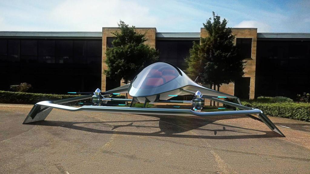 Airborne luxury: Aston Martin debuts Volante Vision VTOL Concept