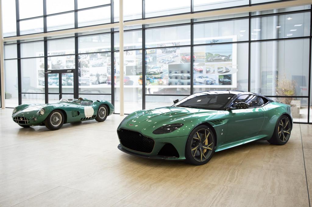 2019 Aston Martin DBS 59 and DBR1 race car