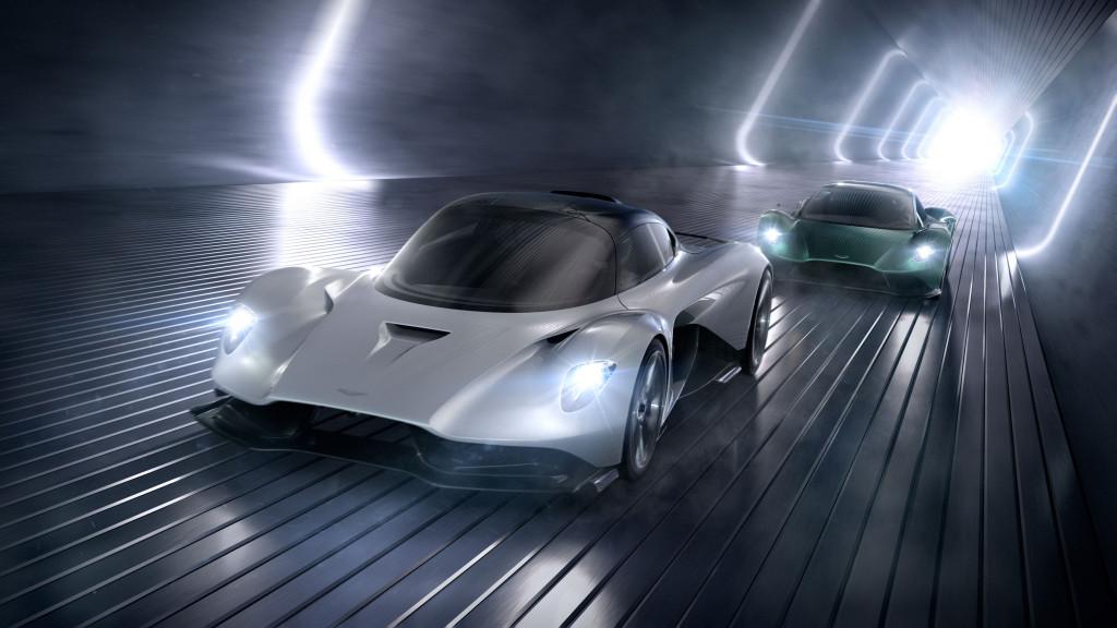 Aston Martin Valhalla and Vanquish Vision concept