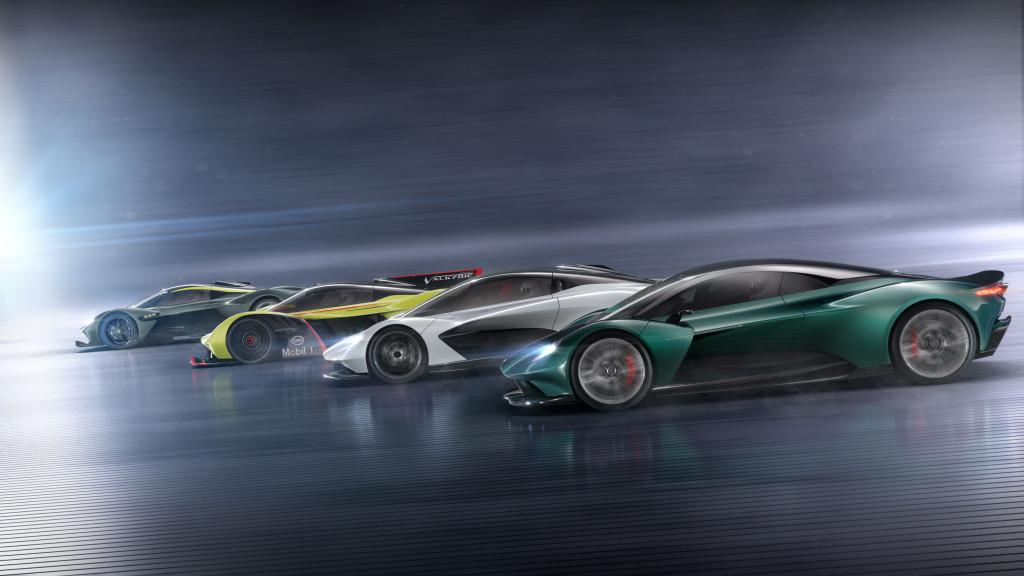 Aston Martin supercar lineup