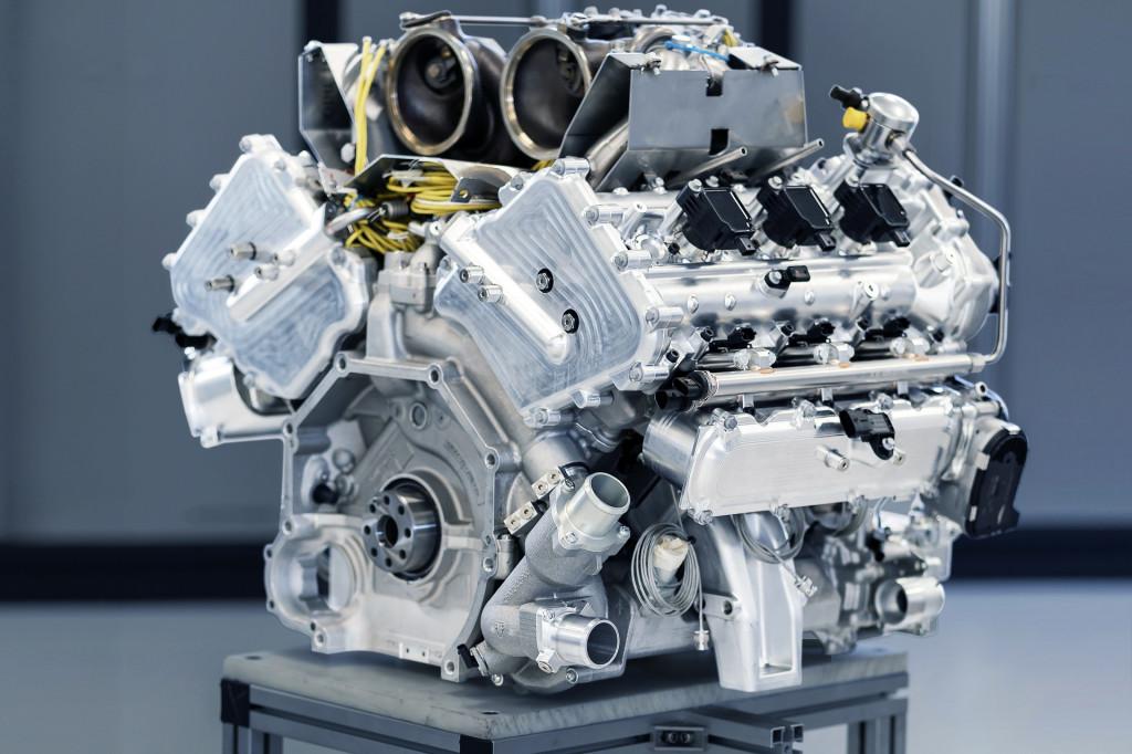 Aston Martin turbocharged 3.0-liter V-6