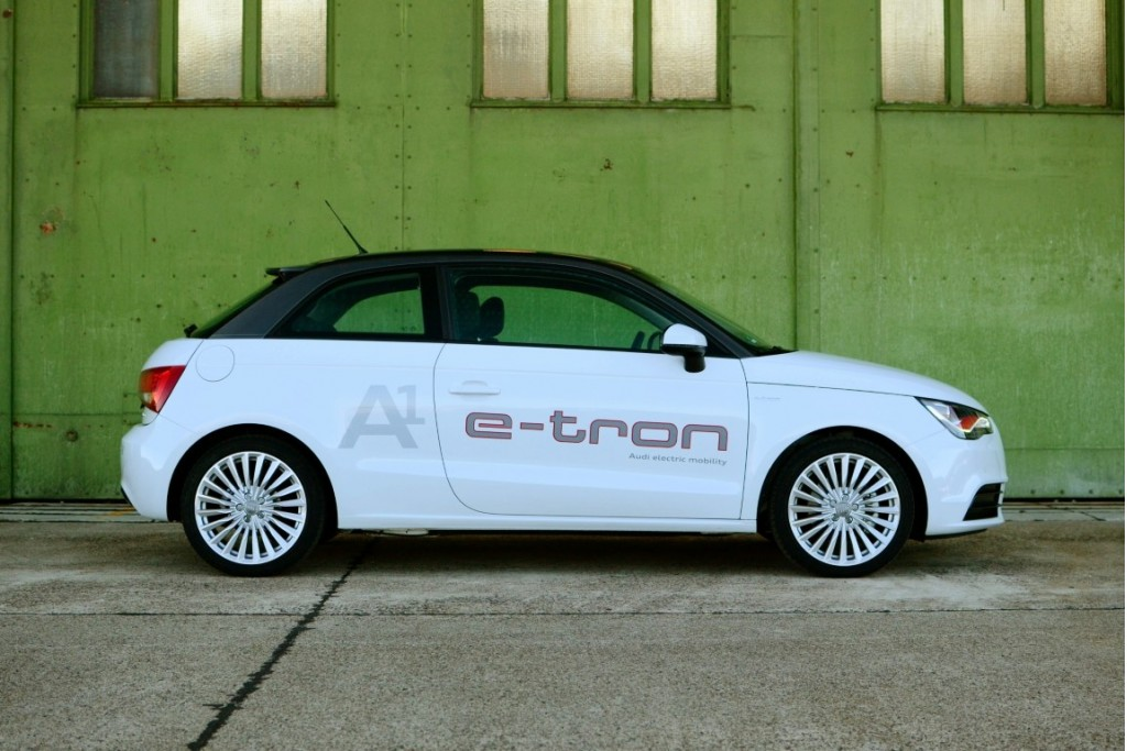 Audi A1 e-tron first drive, Berlin
