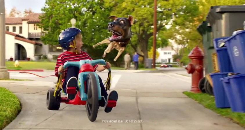 Audi A3 'Doberhuahua' commercial for Super Bowl 2014